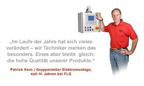 Firmengeschichte der FLG Automation AG