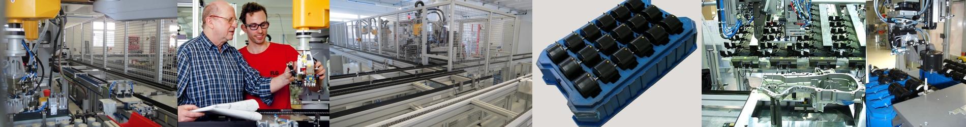 Vollautomatische Montage- und Handlingsysteme