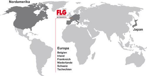 FLG Automation AG - International - wo unsere Kunden weltweiten zu Hause sind
